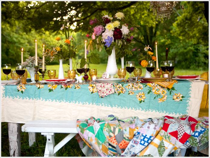 Как украсить дачу в день свадьбы
